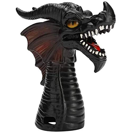 Hengqiyuan Steam Diverter Fire-Breathing Dragon Accessoire de dégagement de Vapeur Inverseur de Vapeur pour autocuiseur Inverseur de Vapeur pour autocuiseur Accessoires Fournitures de Cuisine,Noir