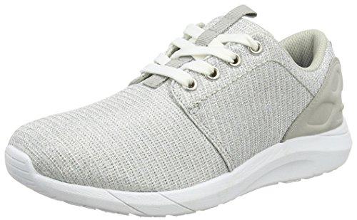 Supremo Damen Damenschuhe Sneakers, Silber (Silver), 38 EU