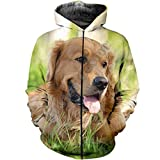 Animal Funny Kawaii Dog Pug 3D Print Hoodies,Men Womentracksuit Pullover Casual Zipper Sweatshirt Jacket Zip Hoodies 4XL