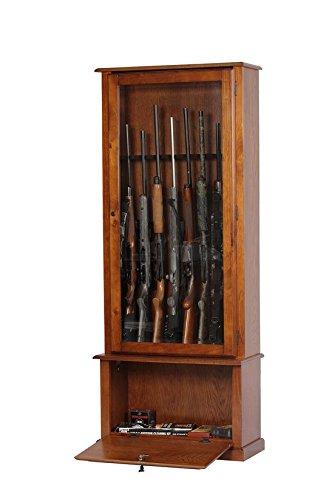 oak gun cabinet - 3