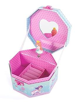 Hot Focus Musical Girls Jewelry Box – Mermaid Music Jewel Storage Box