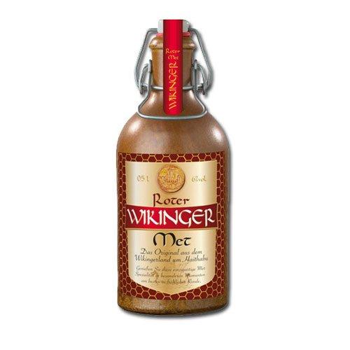 Roter Wikinger Met Behn Honigwein 6,0% Vol. im Tonkrug 1x 0,5l