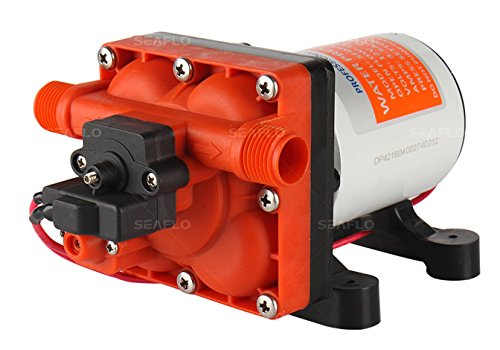 SEAFLO 42-Series Water Pressure Diaphragm Pump w/Variable Flow For...