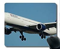 YENDOSTEENマウスパッド面白いカスタマイズされた、航空機ビジネスゲーミングマウスパッド