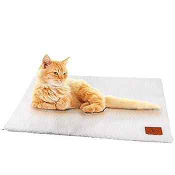 Pfotenolymp® couverture pour chat / couverture pour chien - Couverture électrique auto-chauffante - Couverture chauffante auto-chauffante pour chats & chiens - Tapis chauffant / tapis chauffant