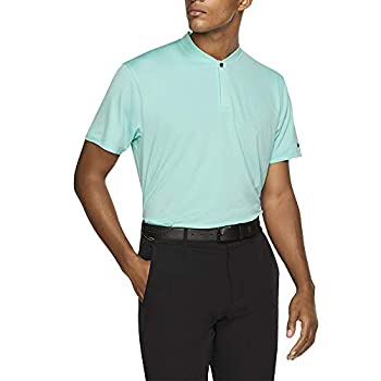 Nike TW Dri Fit Blade OLC Golf Polo 2019 Light Aqua Medium