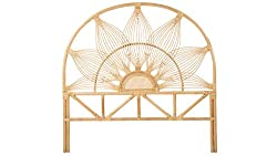 Amazon Kouboo Sunflower rattan headboard bohemian bed