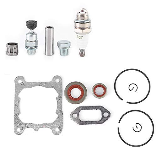 WinmetEuro Cilindro de Motosierra, Kit de pistón de Cilindro de Material de Aluminio, Cilindro de Motosierra para Equipos domésticos
