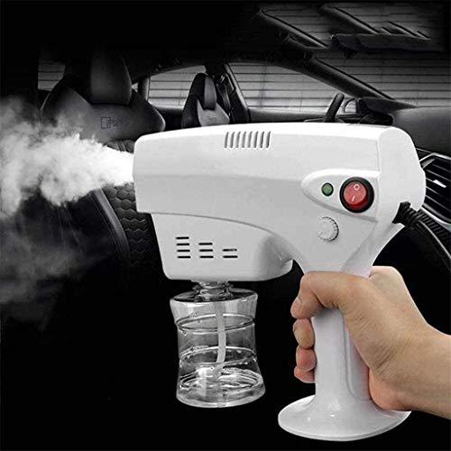 Sprayer Auto Desinfektionssprühmaschine, Multifunktionsdampf-Zerstäubung Gun, Nano-Zerstäubungswaffen 1200W, Wassernebel-Sterilisation mit Flasche, die in Schulen verwendet wird, Einkaufszentren, Häus