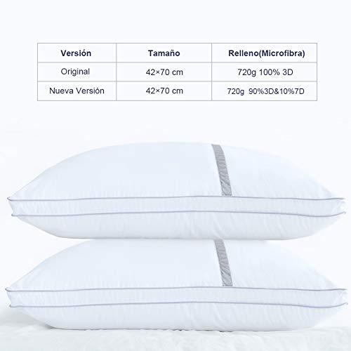 BedStory Pack de 2 almohadas antiácaros - 7