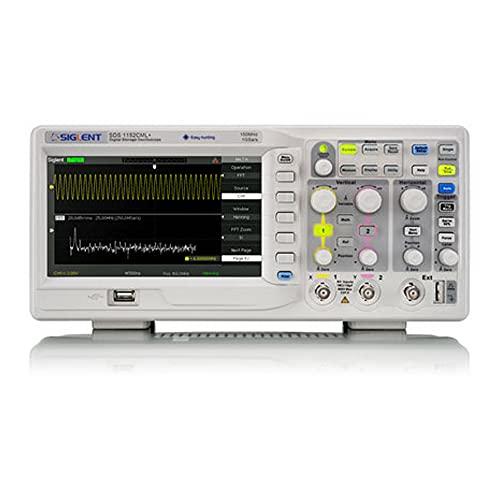 Siglent Technologies SDS1102CML+ - Osciloscopio de almacenamiento digital, 100 MHz