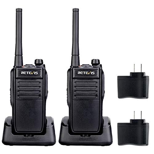 Retevis RT78 Bluetooth Walkie Talkie Pair Any Wireless Headset, IP67 Waterproof 5200mAh Mobile APP Operation, Unlimited Range Walkie Talkie (2 Pack)