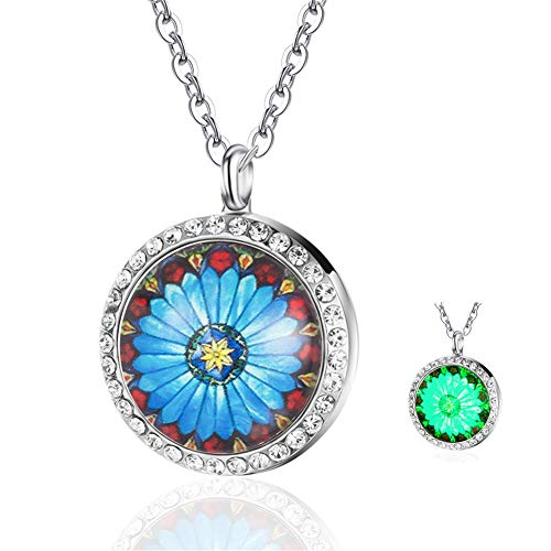 Top 10 Best stainless steel essential oil necklace Reviews