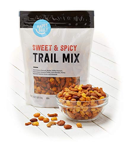 Amazon Brand - Happy Belly Sweet & Spicy Trail Mix, 16 Ounce