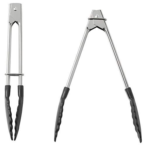 Zange aus Edelstahl, Länge 18 cm, Liefermenge: 2 Stück