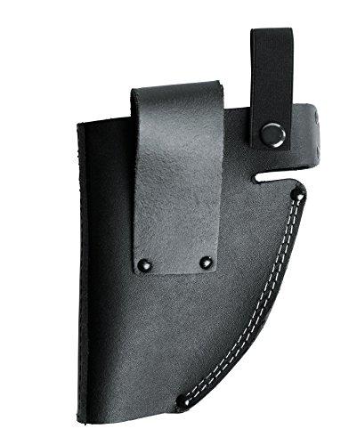 kwb Gürteltasche, Holster für Akkuschrauber aus Leder mit Schlaufe in Schwarz