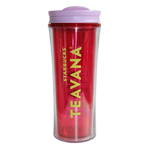 Starbucks Cold Cup tumbler Tropic Teavana Limited 16oz/473ml Starbucks beker