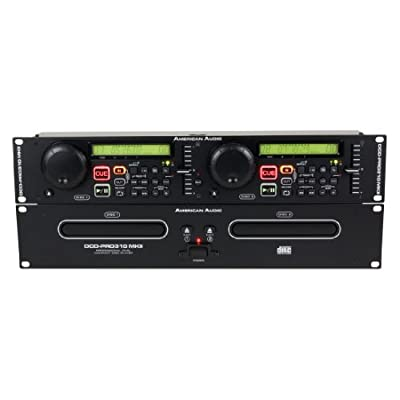 American Audio DCD-PRO310 MKII Double CD Player