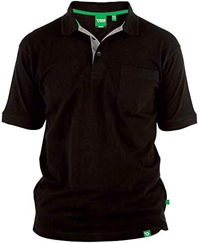 Homme à manches courtes POLO SHIRT BIG TALL Taille Plus T-shirt de basculement col King Top