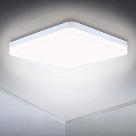 Combuh Ceiling Light LED 48W 4320Lm Easy to Install Suitable for Modern Bedrooms Living Rooms Kitchen Daylight White 6500K Round /Ø30CM