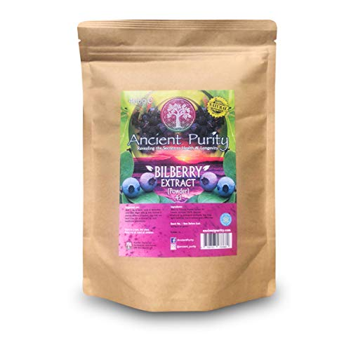 BILBERRY EXTRACT (4:1) POWDER 400g