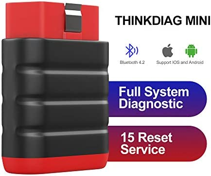 ThinkDiag Mini Bluetooth Diagnostic Car Scanner OBD2 Car Code Reader Full System Scan Tool for product image