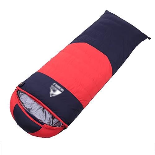 Outdoor slaapzak ultralight down sport wandelen slaapzakken Outdoor winter camping eendendons volwassenen slaapzakken 4 kleuren 210 * 80 cm A4.