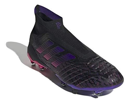 adidas Predator 19+ FG Pogba 814490 - Zapatillas de deporte para hombre, color negro, Negro , 42 2/3 EU