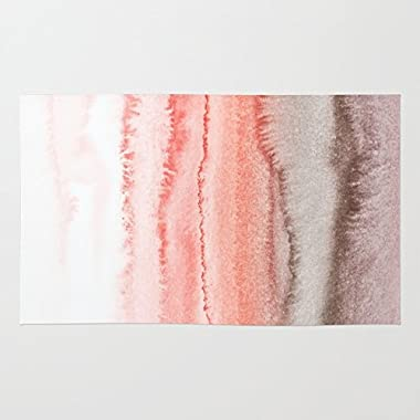 Society6 WITHIN THE TIDES CORAL DAWN Rug 2' x 3'