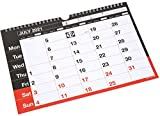 A4 Academic Wall Calendar 2021-2022 Memo Planner Month to View