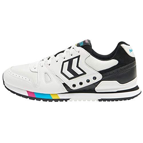 hummel Herren Marathona 92 Sneaker, Blanc, 41 EU