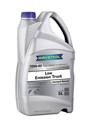 RAVENOL Low Emission Truck SAE 10W-40 / 10W40 Motoröl (5 Liter)
