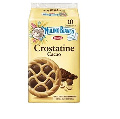 10x Mulino Bianco Kuchen Crostatina Cacao schokoriegel Schokolade kekse Kakao 40gr