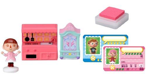 TAKARA TOMY TakaraTomy Animal Crossing New Leaf Mädchen und die Möbel Figur Stempel Set
