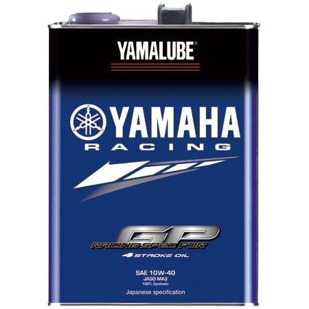 ヤマハ(YAMAHA) 二輪車用エンジンオイル ヤマルーブ RS4GP 4L 10W-40
