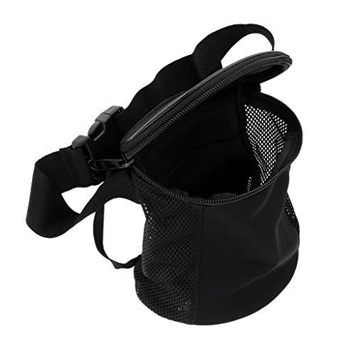 CNBDYODY Buceo de Buceo Bolsa de Equipo Material de Malla del sostenedor con Correa Ajustable Buceo Gear Bolsa de Deporte Durable (Color : Black)