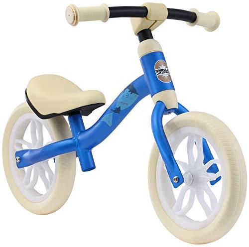 BIKESTAR 2-in-1 Vederlicht (3KG!) kinderfiets groeiende frame van metaal zonder pedalen voor jongens en meisjes | Loopfiets 10 inch van 2 jaar | 10