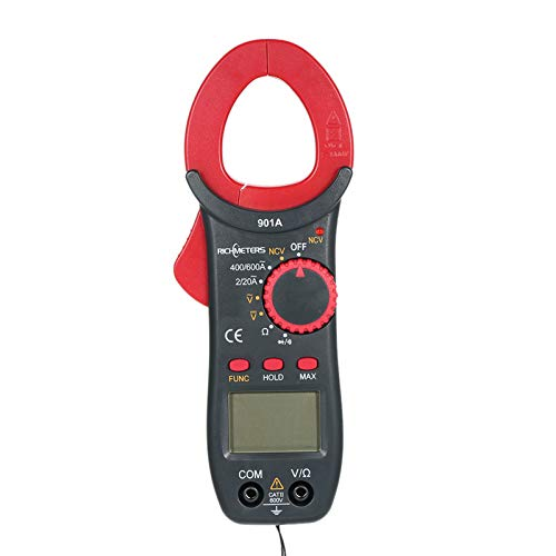 Roeam Multímetro Pinza Amperimetrica,Pinzas Profesional Clamp Bolsillo Digital, RICHMETERS AC/DC Polimetro Tester...