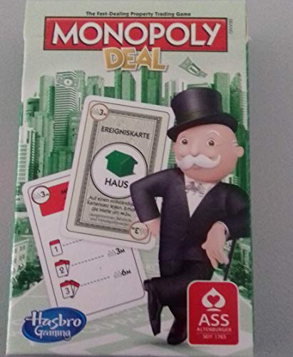 Rewe 2018 Kartenspiel Monopoly Pocket Version