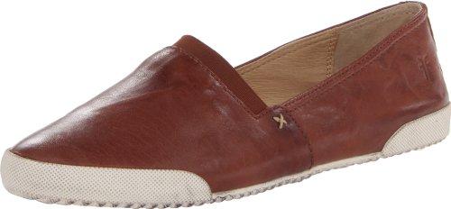 Frye Women's Melanie Slip On Sneaker, Cognac, 7 Medium US