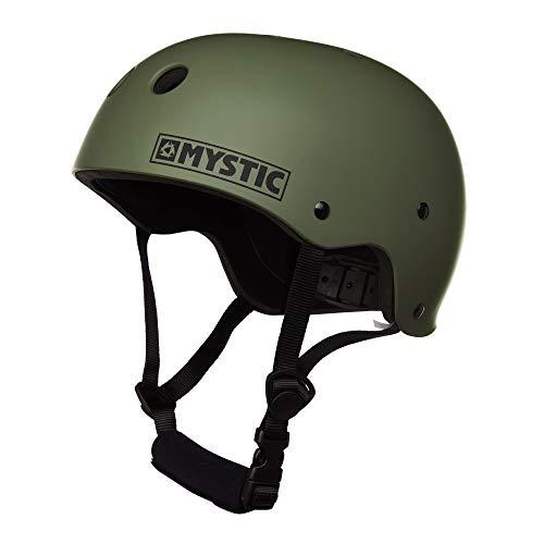 Mystic Watersports - Surf KiteSurf & Windsurfing Mk8 Helm Army - Unisex - Lichtgewicht - Hoge impact thermoplastisch