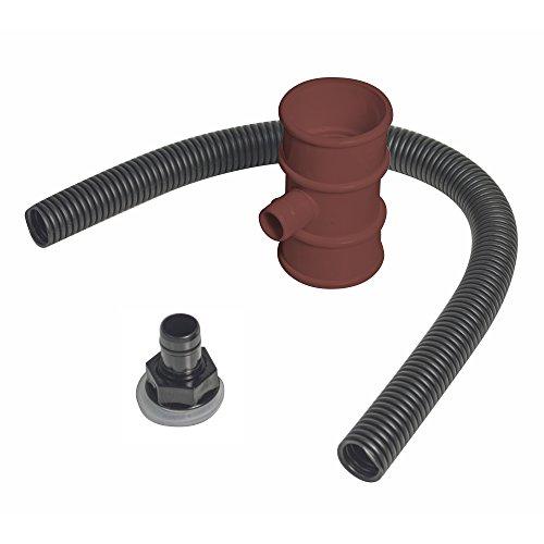 FloPlast RVM1Br Miniflo Rainwater Diverter Kit Brown