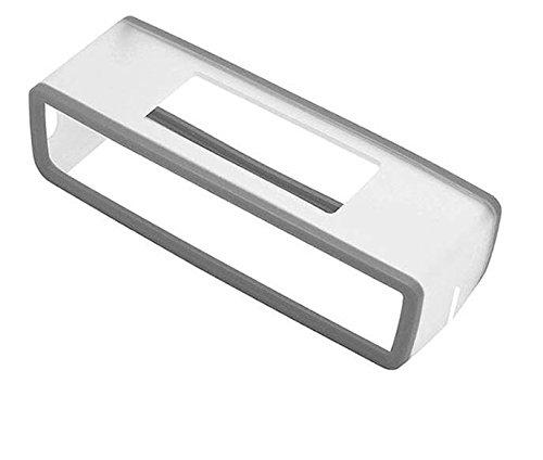 Silikonhülle Case Hülle Tasche kompatibel mit Bose SoundLink Mini Bluetooth Speaker Bluetooth-Lautsprecher Schutzhülle, Silikon-Tragetasche Lautsprecher Hülle Case Schutz (Grau)