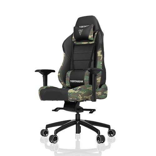 Vertagear Silla de Gaming VG-PL6000 Negro Black/Camouflage X-Large