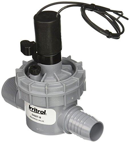 Irritrol 2400T-B Globe Valve Male x Barb Connection, 1