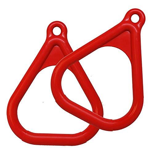Moligh doll Trapeze Ring Swing Set Set Playground Trapeze Bar Jungle Gym Monkey Bar Ring Large Trapezoidal Ring