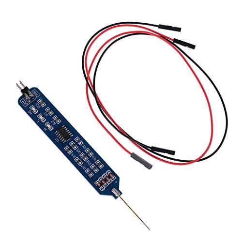 BIlinli 5 V 3,3 V Logiktester Stiftfüllstandstester Digital Circuit Debugger Logic Pulser Analyzer Erkennen von Sondenstromkreis Werkzeug
