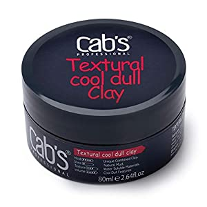 Beauty Shopping Cab's Textural Cool Dull Hair Clay for Men with Matte Finish Molding Hair Wax