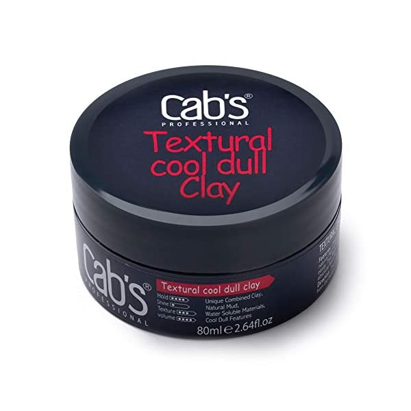 Beauty Shopping Cab's Textural Cool Dull Hair Clay for Men with Matte Finish