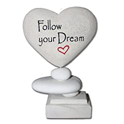 Cyber Monday Gifts - Inspirational Plaque - Zen Love Stone on Amazon